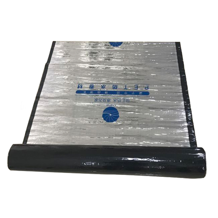 JH-W200 PET Wet-applied Self-adhesive Waterproofing Membrane